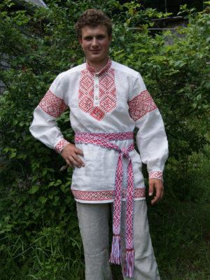 Мужская одежда из льна